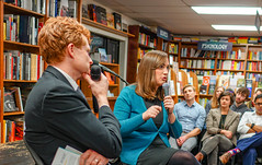 2018.03.20 Sarah McBride and Rep Joe Kennedy, Politics and Prose, Washington, DC USA 4116