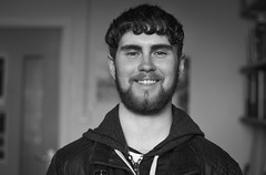 Connor (Chilanga Cement) Tags: bw blackandwhite monochrome people beinghuman nikon nik nikond850 d850 portrait nikonportrait smile smiling happy office liveseyhouse liveseylife
