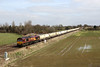 66086 6D19 Whitley bridge 22.03.2018 (Dan-Piercy) Tags: dbcargo ews class66 66086 whitleybridge 6d19 draxps milford westyard