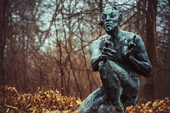 God of the wild (A.Dissing) Tags: white black art light dark contrast a7 a7ii a7m2 sony anders dissing masterpiece super detail fantastic good positive photo pixel mm creative beautiful color composition moment europe artistic other danish denmark danmark different exposure enjoy young unique weather scene awesome dope angle perfect perspective interesting ancient greek religion mythology pan god fields groves andwoodedglens skovguden marselishaverne