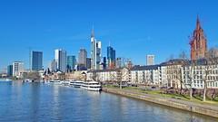 45 - Francfort Mars 2018, Mainkai (paspog) Tags: francfort frankfurt mars march märz 2018 allemagne germany deutschland mainkai main