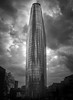 Tower and clouds (philippedechet) Tags: soe tour villes architecture londres
