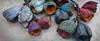scatter of pods by greybirdstudio (greybirdstudio) Tags: greybirdstudio porcelain pod painted painting artisan blossom ceramic colour etsy earthy flower handmade beads rey uk skye