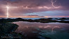 Framed by Lightning (Panorama Paul) Tags: paulbruinsphotography wwwpaulbruinscoza southafrica westerncape capetown tablemountain blaauwbergbeach lightning sunset nikond800 nikkorlenses nikfilters