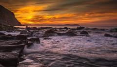 Vu sur giens (joboss83) Tags: mer soleil matin plage bonheur letop fujix sea sun coucherdesoleil mediterannee beach landscape groupenuagesetciel