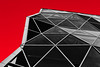 Black&Red (Alexandrii) Tags: red black glass structure arch architecture abstract triangles reflection