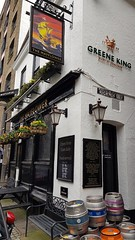 The Mayflower pub, Rotherhithe, London, April 2018 (sbally1) Tags: themayflowerpub mayflower london londonpub publichouse rotherhithe city british greatbritain bar pub