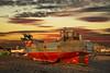 Hastings boat (spencerrushton) Tags: spencerrushton spencer rushton canon5dmkiii 5dmk3 5dmkiii 24105mm canon24105mmlf4 canon canonlens canonl colour zoomlens hastings boat sun summer sunset sky boats sea seaside uk uknature ukseaside clouds fishingboat