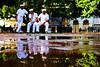3 Sailors (edhi) Tags: republicadominicana dominicanrepublic sony sonya6300 sonyalpha a6300 santodomingo parquecolón marineros sailors relfections reflection cityscape urbanphotography city streetlife streetphotography
