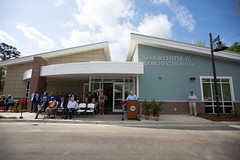 Dorchester Senior Center (North Charleston) Tags: seniorcenter senior center dorchester northcharleston mayor mayorsummey north charleston south carolina lowcountry lieutenant governor sc lieutenantgoverner ribbon cutting citycouncil pickleball yoga fitness health pool