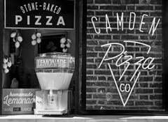 Lemonade stall | Camden Lock (www.davidrosenphotography.com) Tags: urban street camden lock food stalls drink white london blackwhite