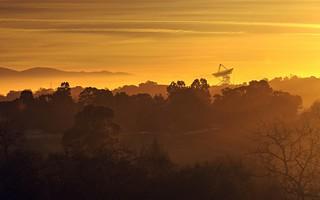 Morning glow at Stanford