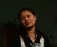laidback lady (the foreign photographer - ฝรั่งถ่) Tags: laidback lady food vendor khlong thanon portraits bangken bangkok thailand canon