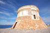(192/18) La Torre (Pablo Arias) Tags: pabloarias photoshop photomatix capturenxd españa cielo nubes arquitectura edificio torre mar agua mediterráneo fornells mneorca