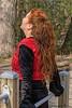 Zandra (Marjon van der Vegt) Tags: meerenbos zwanen eenden ijs koud zon langeharen rood boxer hond spiegel mooi zonnig