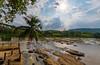 Pinnawala (jarmal83) Tags: asia srilanka pinnawala palm river landscape sun sky stones wideangle nikon sigma trip travel journey holiday nature