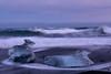 Jökulsárlón_Ice_Beach_L1090728 (nocklebeast) Tags: iceland jökulsárlónicebeach jökulsárlón southcoast ice blacksand nrd
