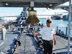 IOWA 47 Remembrance 4-19-2018 (Konabish ~ Greg Bishop) Tags: battleshipiowarememberingthe47 warship bb61 ussiowa the47 turret2 ceremony remembrance jimgauderman sanpedrocalifornia iowabellbow portoflosangeles pola southerncalifornia