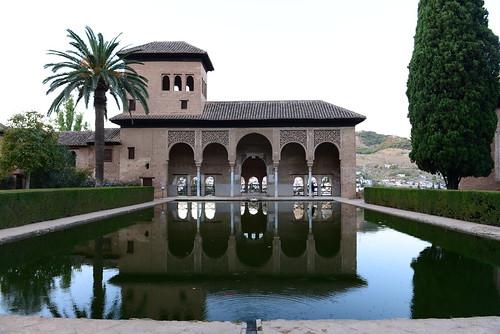 dav_7708 la alberca del jardn del partal y la torre de las damas - Jardin De L Alhambra