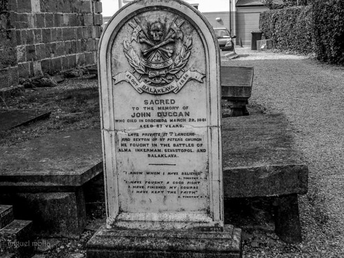 old tomb in drogheda