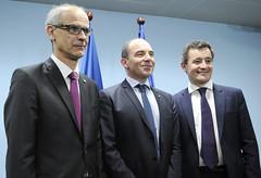 Visita ministre d'Acció i Comptes Públics francès Sr.Gérald Darmanin.16-03-2018 (Govern d'Andorra) Tags: finances frança martí cinca exteriors darmanin