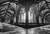 Ghosts in The Cathedral? (andybam1955) Tags: cloisters architecture ghosts norwichcathedral monochrome norfolk norwich