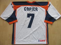 #7 Wessel COPIER Game Worn Jersey (kirusgamewornjerseys) Tags: iihf game worn jersey ice hockey wessel copier netherlands