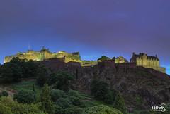 Edinburgh castle (morbidtibor) Tags: schotland edinburgh castle night