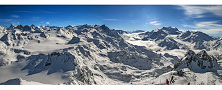 Verbier : Mont fort and the Grand Combin.Canton of Valais, Switzerland. Izakigur  25.02.11, 13:50:41.