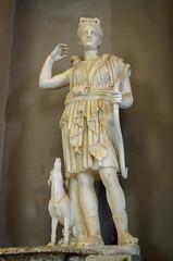 Statue der Diana (Markus Wollny) Tags: city vatikan rom cittàdelvaticano vatikanstadt it