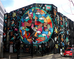 Shoreditch Street Art (scats21) Tags: hunto mrthoms