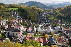Stunning autumn in Moravia (Štramberk, CZ) (severocech) Tags: stramberk town czechia moravia europe architecture oldtown hills autumn colors
