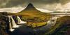 Kirkjufell típica (Javier PerezZ) Tags: landscape hill mountain range peak fog ridge alpenglow valley scenic dramatic sky scenics waterfall iceland