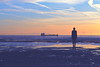 IMG_7986 (SnapperSte) Tags: ships ironmen antonygormley anotherplace crosbybeach crosby sunsets beachsunsets rivermersey merseyside liverpool