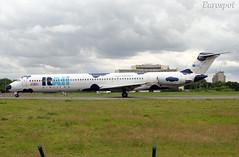 I-DAWZ MD80 Itali Airlines (@Eurospot) Tags: dc9 md80 itali cdg paris roissy