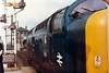 55018 Dundee (dhtulyar) Tags: deltic napier delta class55 55 55018 ballymoss 1e10 0910 dundee kingscross kings cros ecml