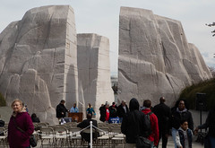 Rear of the Martin Luther King Memorial