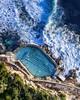 Happy weekend (Jay Daley) Tags: aerial dji pool ocean australia sydney bronte
