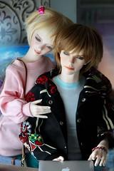 Reunited... (assamcat) Tags: zaollluv dollmore iplehouse yid oscar bjd balljointeddoll resin abjd love springtime canon
