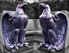 Double Eagle (beelzebub2011) Tags: canada britishcolumbia vancouver stanleypark sculpture artwork
