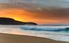 Sunrise Seascape (Merrillie) Tags: daybreak sunrise cloudy australia nsw centralcoast clouds sea newsouthwales rocks earlymorning morning water landscape ocean nature sky waterscape coastal seascape outdoors killcarebeach dawn coast killcare waves