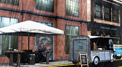 Rainy weather (Alexa Maravilla/Spunknbrains) Tags: kraftwork 22769 serenitystyle gachaland decocrate secondlife sl decor furniture architecture outdoors rain