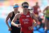 35835941 (britishtriathlon) Tags: triathlonmidlengthhalftophalf goldcoast australia sophie coldwell