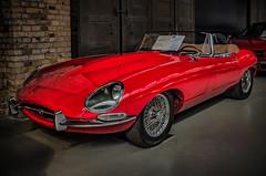 JAGUAR E-TYPE CONVERTIBLE (Peter's HDR-Studio) Tags: petershdrstudio hdr classiccar jaguar jaguaretype klassiker auto oldtimer convertible red rot cabriolet