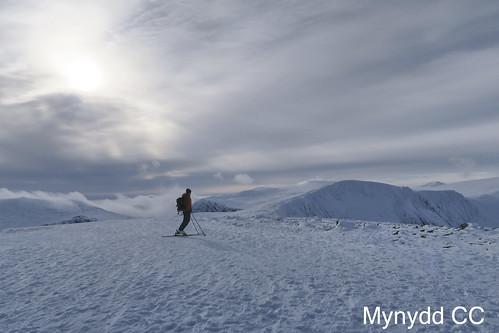 Skiing to Ben Macdui_Photo Mark W
