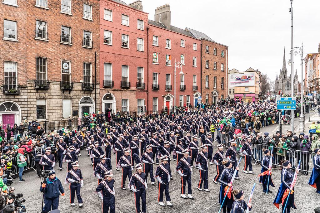 DUBLIN SAINT PATRICKS PARADE 2018 [THE MARCHING ILLINI]-137394