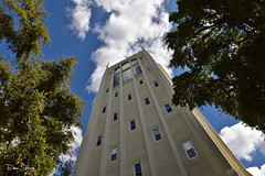 Burns Tower 01 Sig (Dave Skinner Photography) Tags: burns ca tower stockton