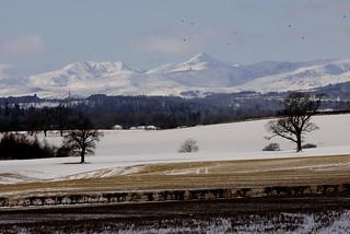 Perthshire snow,  Ben Vorlich.  ^ one.
