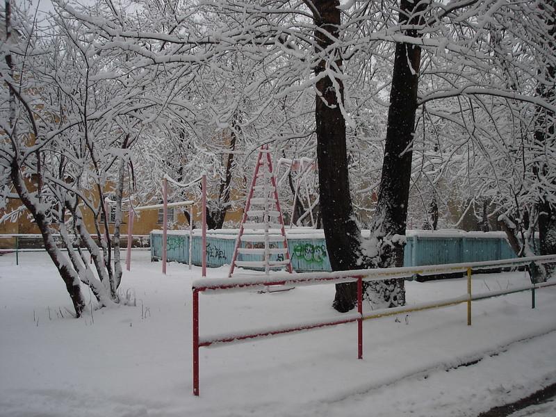 фото: Снегопад 1 мая