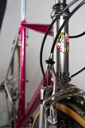 Kerasna's Classic modern road bike.